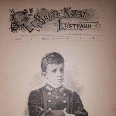 Militaria: EL MUNDO NAVAL ILUSTRADO 1897 AÑO COMPLETO. Lote 146682686