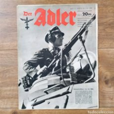 Militaria: REVISTA DER ADLER Nº 13 DE 1944 ! RARO MAGAZINE PROPAGANDA. Lote 146879690