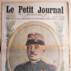 Militaria: FRANCIA PERIÓDICO MILITAR FRANCÉS LE PETIT JOURNAL Nº 1344 DIMANCHE 24 SEPTEMB 1916 I GUERRA MUNDIAL. Lote 146880550
