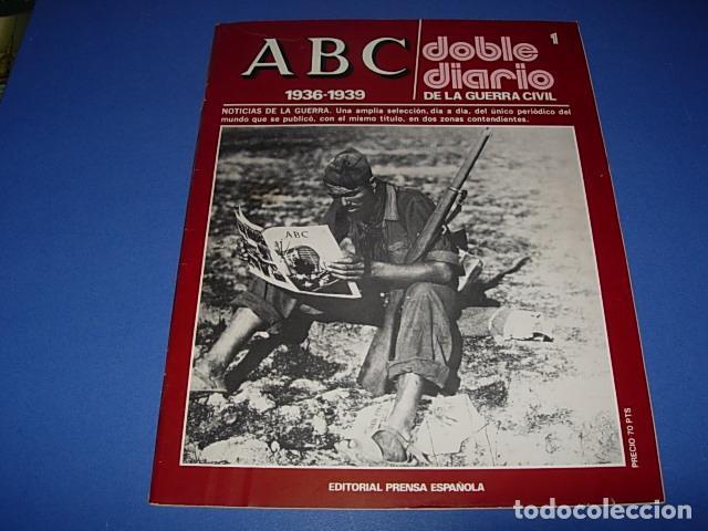 ABC. DOBLE DIARIO DE LA GUERRA CIVIL. FASCICULO. 1. (Militar - Revistas y Periódicos Militares)