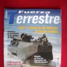 Militaria: REVISTA FUERZA TERRESTRE. Lote 147083754