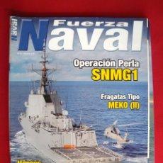 Militaria: REVISTA FUERZA NAVAL. Lote 147084818