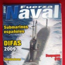Militaria: REVISTA FUERZA NAVAL. Lote 147085078
