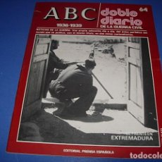 Militaria: ABC. DOBLE DIARIO DE LA GUERRA CIVIL. FASCICULO. 64. Lote 147099150