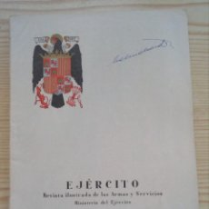 Militaria: REVISTA EJERCITO - NUMERO 259 - AGOSTO 1961. Lote 147187294