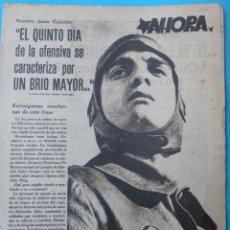 Militaria: PERIODICO GUERRA CIVIL , AHORA , DIARIO DE LA JUVENTUD , 21 DICIEMBRE 1937 , ORIGINAL. Lote 147194126