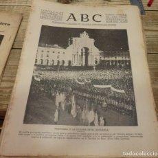 Militaria: ABC 8 DE NOVIEMBRE DE 1936, SEVILLA,20 PAGINAS, ALMERIA,MAPA DE MADRID,PARTE DE GUERRA,ETC..... Lote 147219218