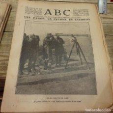 Militaria: ABC 16 DE ENERO DE 1937, SEVILLA,17 PAGINAS, FRENTE DE JAEN,SAN PEDRO DE ALCANTARA,PARTE DE GUERRA,E. Lote 147228622