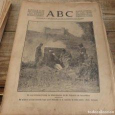 Militaria: ABC 30 DE SEPTIEMBRE DE 1936, 23 PAGINAS,MAQUEDA,DON CARLOS DE BORBON Y ORLEANS,ANDUJAR,PARTE DE GUE. Lote 147233854