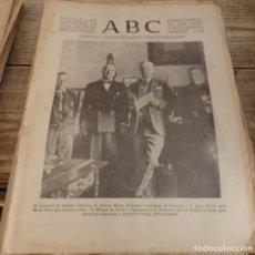 Militaria: ABC 1 DE DICIEMBRE DE 1936, 20 PAGINAS,HUMERA,POZUELO DE ALARCON,CORDOBA,PARTE DE GUERRA,ETC. Lote 147234334
