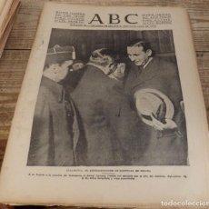 Militaria: ABC 26 DE ENERO DE 1938, SEVILLA,26 PAGINAS.FRENTE DE TERUEL,DURRUTI,LOPERA,CORDOBA,PARTE DE GUERRA. Lote 147279278