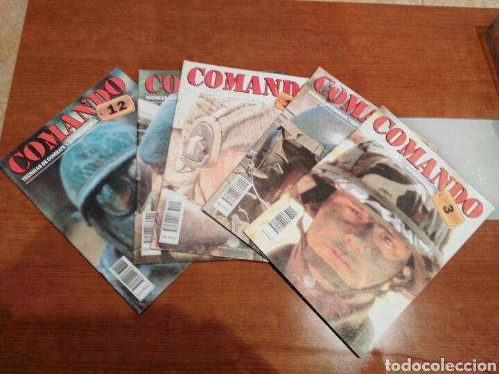 LOTE 5 REVISTAS COMANDO. (Militar - Revistas y Periódicos Militares)