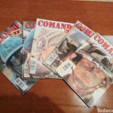 Militaria: LOTE 5 REVISTAS COMANDO.. Lote 147330152