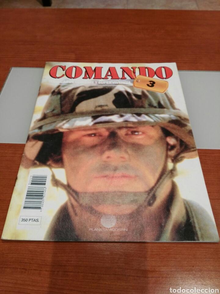 Militaria: Lote 5 revistas Comando. - Foto 2 - 147330152