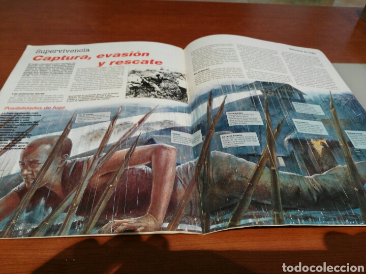Militaria: Lote 5 revistas Comando. - Foto 9 - 147330152