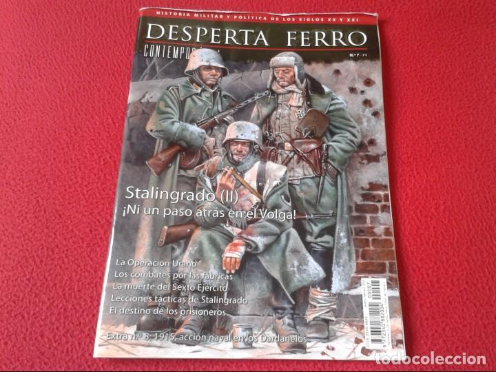 REVISTA MAGAZINE DESPERTA FERRO Nº 7 HISTORIA MILITAR Y POLÍTICA DE LOS SIGLOS XX Y XXI STANLINGRADO (Militar - Revistas y Periódicos Militares)