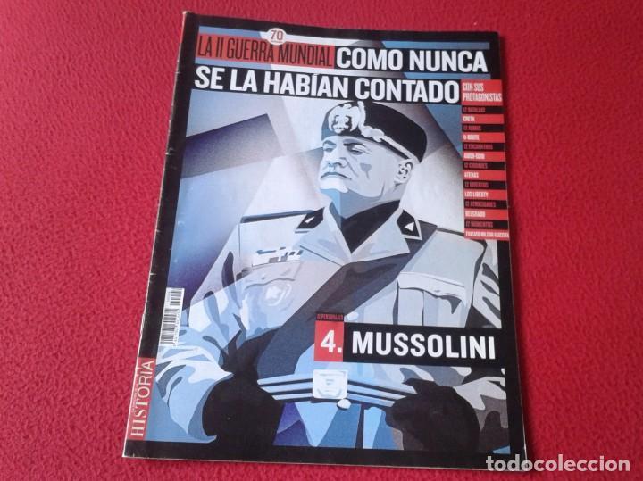 REVISTA MAGAZINE FASCÍCULO HISTORIA GUERRA MUNDIAL WORLD WAR II PERSONAJES BENITO MUSSOLINI CRETA... (Militar - Revistas y Periódicos Militares)
