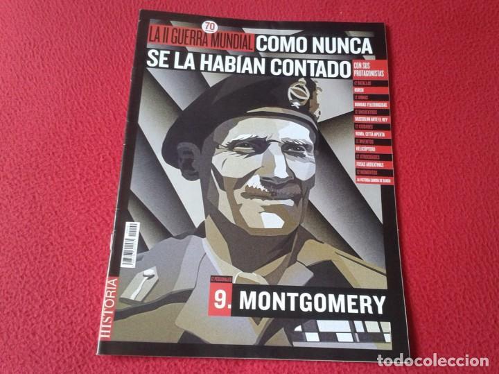 REVISTA MAGAZINE FASCÍCULO HISTORIA GUERRA MUNDIAL WORLD WAR II PERSONAJES MONTGOMERY BATALLAS KURSK (Militar - Revistas y Periódicos Militares)