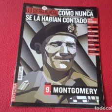 Militaria: REVISTA MAGAZINE FASCÍCULO HISTORIA GUERRA MUNDIAL WORLD WAR II PERSONAJES MONTGOMERY BATALLAS KURSK. Lote 147614982