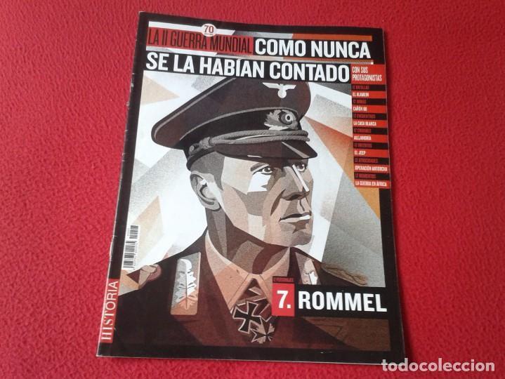 REVISTA MAGAZINE FASCÍCULO HISTORIA GUERRA MUNDIAL WORLD WAR II PERSONAJES ROMMEL NAZI BATALLAS..ETC (Militar - Revistas y Periódicos Militares)