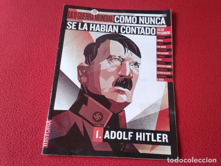 REVISTA MAGAZINE FASCÍCULO HISTORIA GUERRA MUNDIAL WORLD WAR II PERSONAJES NAZI ADOLF HITLER NAZISMO (Militar - Revistas y Periódicos Militares)