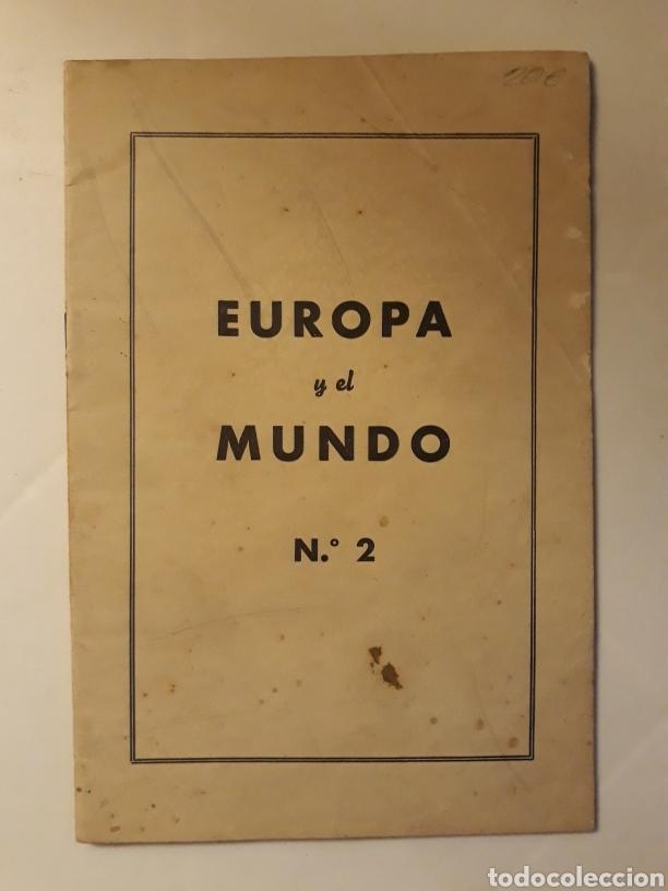 EUROPA Y EL MUNDO N.2 REPRODUCCIÓN DE LA REVISTA POLITISCHE WISSENSCHAFT 1945 (Militar - Revistas y Periódicos Militares)