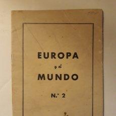 Militaria: EUTOPA Y EL MUNDO N.2 REPRODUCCIÓN DE LA REVISTA POLITISCHE WISSENSCHAFT 1945. Lote 147755882