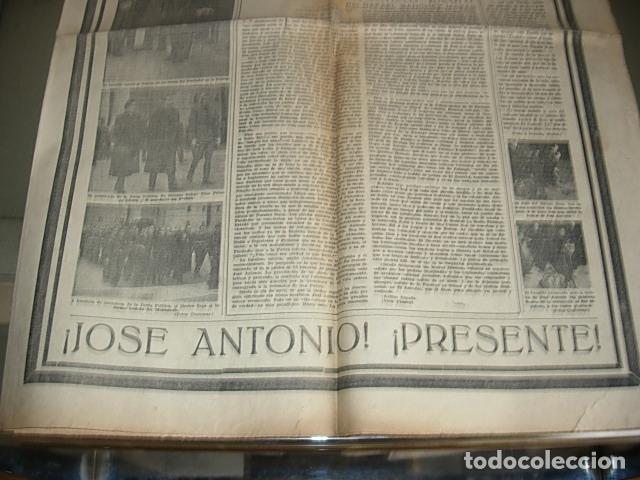 Militaria: Arriba nº 210 Viernes 1 de Diciembre 1939 Jose Antonio reposa en la piedra augusta del Escorial - Foto 11 - 149310434