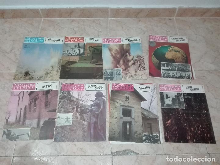 Militaria: LOTE DE FASCICULOS revistas CRONICA DE LA GUERRA ESPAÑOLA - Foto 2 - 149497718