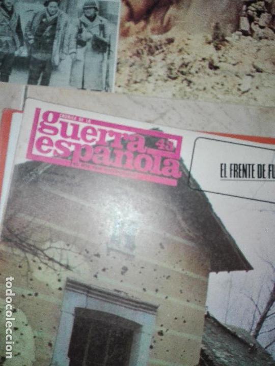 Militaria: LOTE DE FASCICULOS revistas CRONICA DE LA GUERRA ESPAÑOLA - Foto 3 - 149497718