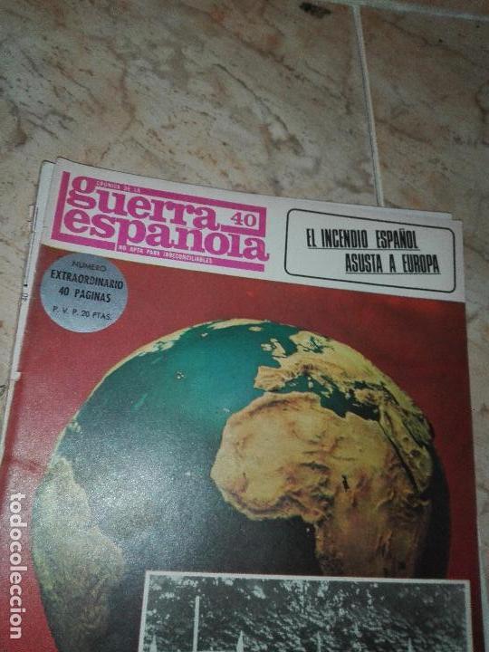 Militaria: LOTE DE FASCICULOS revistas CRONICA DE LA GUERRA ESPAÑOLA - Foto 4 - 149497718