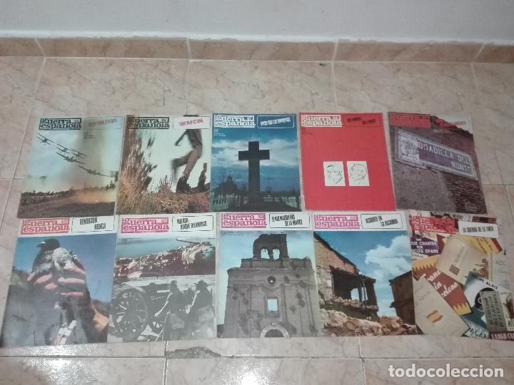 Militaria: LOTE DE FASCICULOS revistas CRONICA DE LA GUERRA ESPAÑOLA - Foto 5 - 149497718