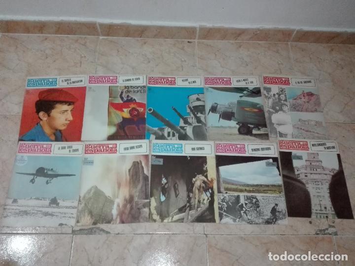 Militaria: LOTE DE FASCICULOS revistas CRONICA DE LA GUERRA ESPAÑOLA - Foto 6 - 149497718