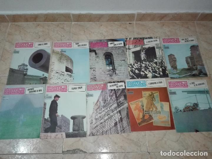 Militaria: LOTE DE FASCICULOS revistas CRONICA DE LA GUERRA ESPAÑOLA - Foto 7 - 149497718