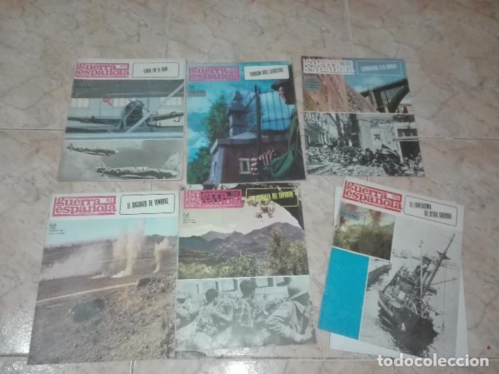 Militaria: LOTE DE FASCICULOS revistas CRONICA DE LA GUERRA ESPAÑOLA - Foto 8 - 149497718