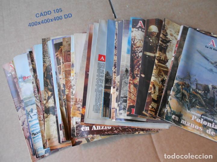 LOTE DE 47 FASCICULOS ABC SEGUNDA GUERRA MUNDIAL (Militar - Revistas y Periódicos Militares)