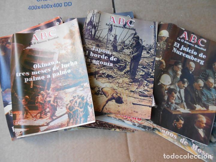Militaria: LOTE DE 47 FASCICULOS ABC SEGUNDA GUERRA MUNDIAL - Foto 2 - 149686466