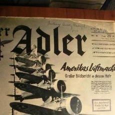 Militaria: DER ADLER AÑO 1939 Nº 10.ORIGINAL RARA. Lote 150007994