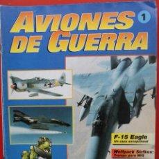 Militaria: AVIONES DE GUERRA PLANETA AGOSTINI. FASCÍCULO Nº 1. Lote 151641338