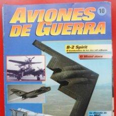 Militaria: AVIONES DE GUERRA PLANETA AGOSTINI. FASCÍCULO Nº 10. Lote 151645462