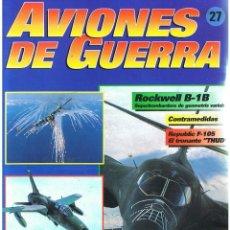 Militaria: AVIONES DE GUERRA PLANETA AGOSTINI. FASCÍCULO Nº 27. Lote 151713490