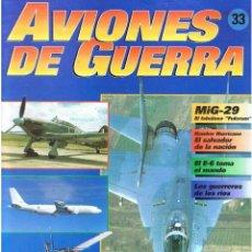 Militaria: AVIONES DE GUERRA PLANETA AGOSTINI. FASCÍCULO Nº 33. Lote 151716018