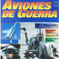 Militaria: AVIONES DE GUERRA PLANETA AGOSTINI. FASCÍCULO Nº 34. Lote 151716326