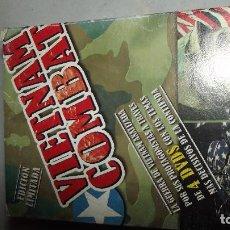 Militaria: DOCUMENTALES GUERRA DE VIETNAM DVD VIETNAM COMBAT. Lote 151874478