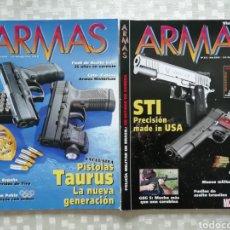 Militaria: REVISTAS ARMAS, NÚMEROS 315 Y 314 MC EDICIONES 2008. Lote 153527285