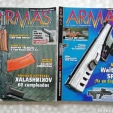 Militaria: REVISTAS ARMAS NÚMEROS 299 Y 308, MC EDICIONES 2008. Lote 153527378