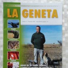 Militaria: REVISTA LA GENETA NÚMERO 13 ACTUALIDAD CINEGÉTICA CATALUÑA 2008. Lote 153527653