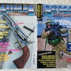 Militaria: REVISTA ARMAS Y MUNICIONES, NÚMEROS 263 Y 300 AÑO 2008. Lote 153527881