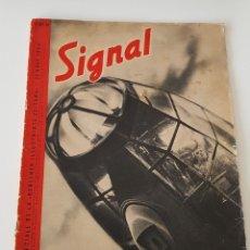 Militaria: REVISTA SIGNAL Nº 10 - 1940 EDICIÓN FRANCESA. III REICH REVISTA DE PROPAGANDA DE LA WEHRMACHT. Lote 154500022