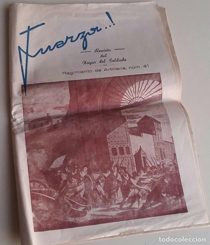 REVISTA DEL HOGAR DEL SOLDADO. FUERZA. MAYO 1953 (Militar - Revistas y Periódicos Militares)